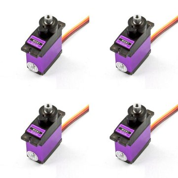 4X MG91 13g 2.6KG Torque Metal Gear Digital Servo
