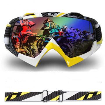 Motorcycle Ricing Goggles Dustproof Windprooof Motocross Helmet Goggle For NENKI 1019