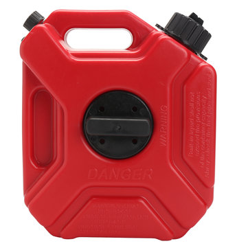 3L Portable Gasoline Tank Gas Plastic Tank Fuel Tank With Lock Car Gokart
