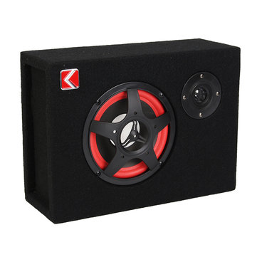 6 Inch 350W 4Ω Under-Seat Car Subwoofer Speaker Stereo Audio Bass Powerful Amplifier