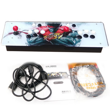PandoraBox 4s Metal 2 Player Double Stick 680 Arcade Game Console