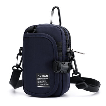 Men Women Nylon Waterproof Light Weight Crossbody Bag Waist Bag