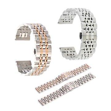 스테인레스 스틸 스트랩 링크 손목 밴드 금속 걸쇠 삼성 기어 S3 프론티어에 대한