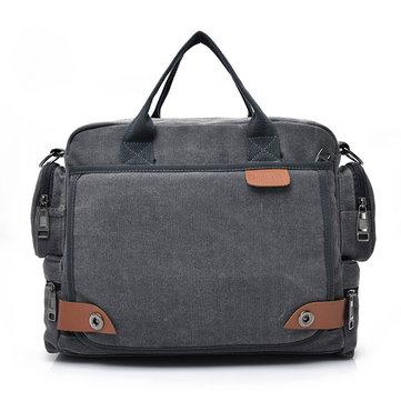 MannenKwaliteitCanvasCasualBusinessGrote Capaciteit Functionele Handtas Crossbody Bag