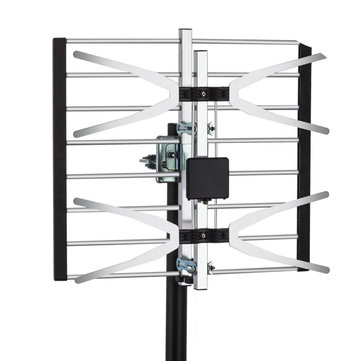 Yehfly TLPA16B 120 Miles Digital Amplified Signal TV Aerial Antenna