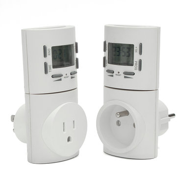 LCD Digital Display Intelligent Programmable Timing Timer Charging Switch Socket