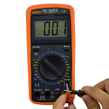 JAKEMY JM-9205A Digital Multimeter Electrical Measuring Instrument Digital Meter