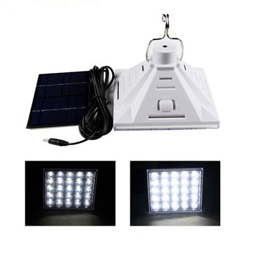 Solar Powered Remote 25 LED SMD Wall Lamp Outdoor Garden Camping Emergency Light