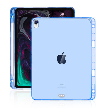 Bakeey Clear Shockproof Tablet Case With Pencil Holder For iPad Pro 12.9 Inch 2018