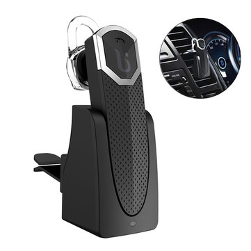 BOROFONE BC2 Car Air Vent Mount Charger Magnetic Adsorption Unilateral Bluetooth Earphone With Mic