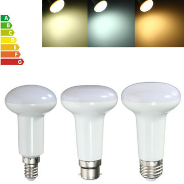7W R63 E27 E14 B22 SMD5730 LED Reflector Light Lamp Bulb Pure Warm Natural White AC85-265V