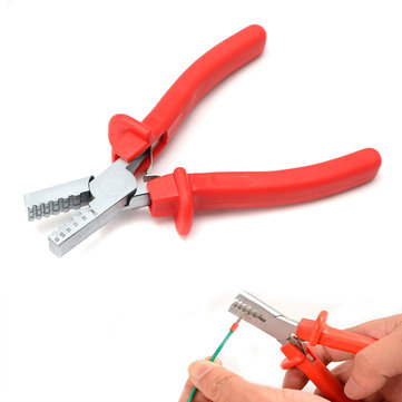 0.5-2.5mm² Mini Small Ferrules Tool Crimper Plier for Crimping Cable Wire End-sleeves