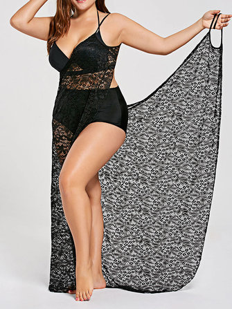 Perspective Muti-way Wear Beach Towel Cover-Ups