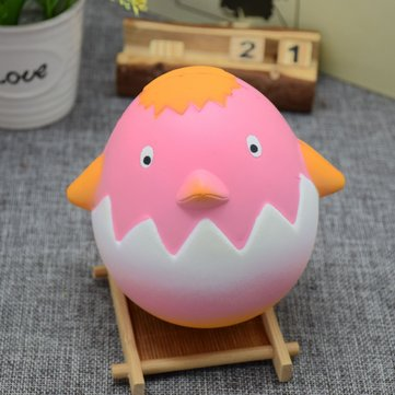 PU Slow Springback Flavor Toy Squishy Imitation Cute Hen Random Color