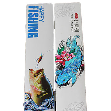 40CM 45CM Large Capacity Multifunction Painted Three Layers Fishing Line Tackle Boxs