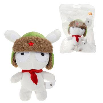 XIAOMI White Stuffed Plush Toy Classic MITU 25cm Cute Soft Doll Kids Best Gift