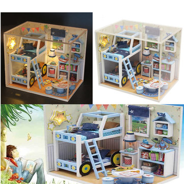 DIY Wooden Manual assembling Puzzle Model Star Story Toys For Kids Children Birthday Gift
