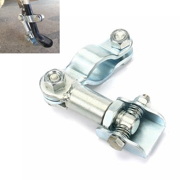 Motorcycle Side Stand Adjustable Feet Bracket For Round Tube/Oval Tube