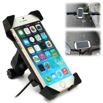 """мотоцикл Подставка для телефона для велосипеда Зарядное устройство для USB-держателя Крепление для держателя для 3,5 ~ 7 """""""
