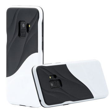 Bakeey 2 IN 1 пульсация молочной воды Шаблон Защитная пленка для ПК и TPU Чехол для Samsung Galaxy S9/S9 Plus