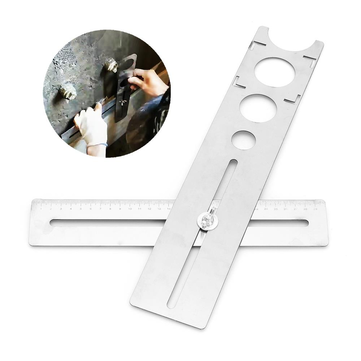Drillpro Hole Locator Multifunction Universal Direction Hole Locator for Ceramic Tile Tile Spacers