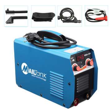 MMA-300 MIG ARC 300A Welding Machine Inverter Gas Gasless Gun Mask Brush