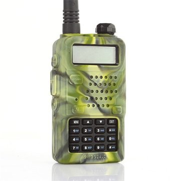 Rubber Soft Case for Walkie Talkie Baofeng Radio UV 5R Series UV-5R UV-5RA