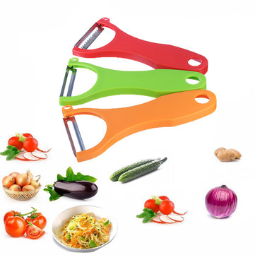 3Pcs Magic Trio Peeler Set Slicer Shredder Julienne Fruit Vegetable Cutter