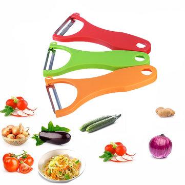 3Pcs Magic Trio Peeler Set Slicer Shredder Julienne Fruit Vegetable Cutter