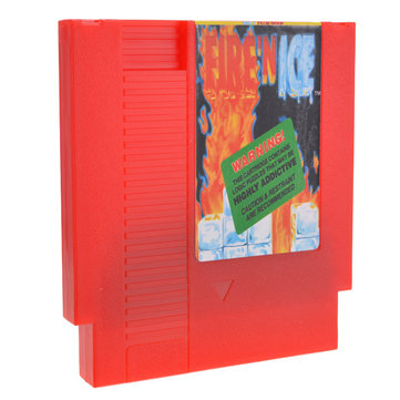 Fire 'N Ice 72 Pin 8 Bit Game Card Cartridge for NES Nintendo