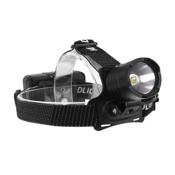 Xmund HL-34 1800LM XHP70 LED Waterproof Headlamp 3 Modes Zoomable Light Low Power Reminder Camping Hunting Emergency Lantern Power Bank 18650