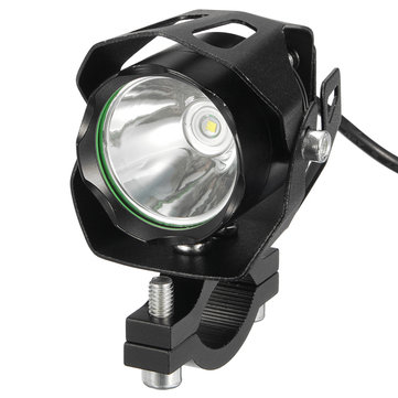 10W T6 LED Motorcycle Car Driving Headlight Fog Lamp Spot Lightt With Lampshade