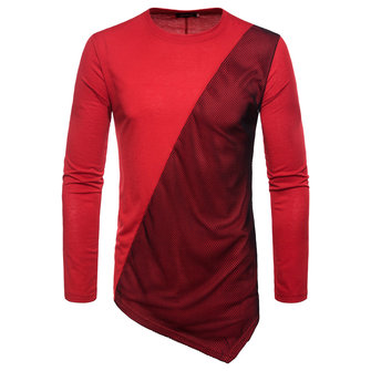Men's Fashion Long Sleeve Bottoming T-Shirts