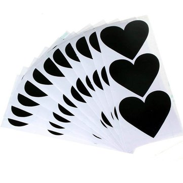 36Pcs Chalkboard Blackboard Chalkboard Stickers Craft Kitchen Jar Labels