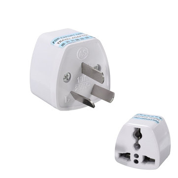 Universal Power Plug Travel Adapter 3 Pin Converter 250V 10A US UK EU to AU AC