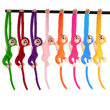 Long Arm Hanging Talking Monkey Toy Colorful New Hot-selling Talking Monkey Doll