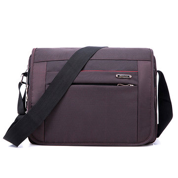 Men Business Waterproof Laptop Bag Shoulder Crossbody Bag