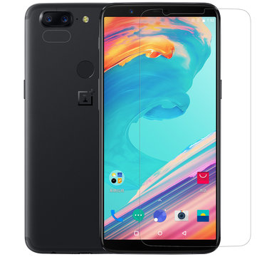 Nillkin Matte Anti-Fingerprint Screen Protector+Lens Protector For OnePlus 5T