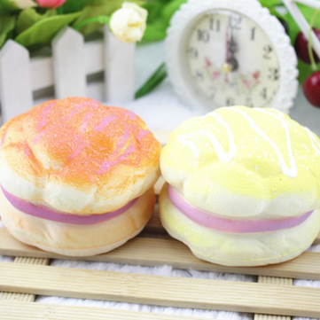 Buy Random Color Squishy Soft 8CM Pineapple Bread Decoration Soft Toys for $2.56 in Banggood store