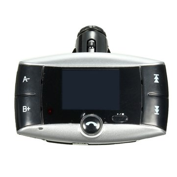 Car MP3 Player Bluetooth Hands Free FM Transimittervs Modulator 1.5 inch LCD SD MMC USB Remote Control