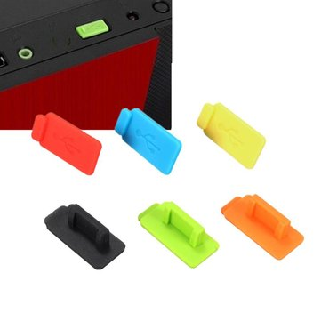 Colorful Rubber Silicon Protective Dustproof USB Plug Cover Stopper AntiI Dust Stopper