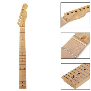 22 Frets Maple Guitar Neck with Full Fretjob for Fender Telecaster Style TELE