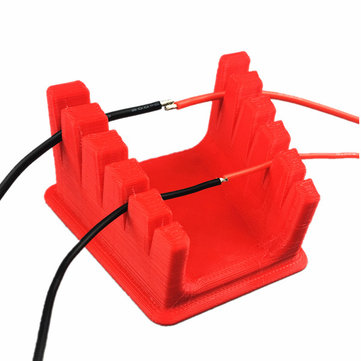 RC Drone Part 3D Printed Fixing Base Soldering Station for Silicone Connection Cable