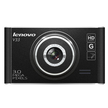Lenovo V33 Full HD 1080P Car DVR Camera 3.0 Mega Pixels G-Sensor