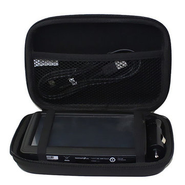 5 Inch Hard Shell Black EVA Sat Nav GPS Storage Case Cover Carry Bag