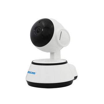 ESCAM G10 720P IP Wireless Camera Support M otion Detection H.264 Pan/Tilt Support 64G TF Card IR Cam