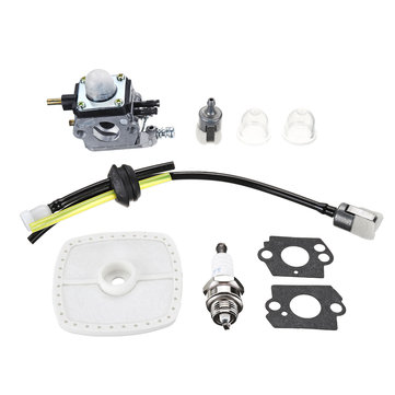 Carburetor & Maintenance Kit For Mantis Tiller 7222 7225 SV-5C/2 Zama C1U-K82
