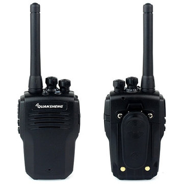 QUANSHENG TG-K100 16 Channels 400-480MHz Mini Ultra Light Dual Band Two Way Handheld Walkie Talkie