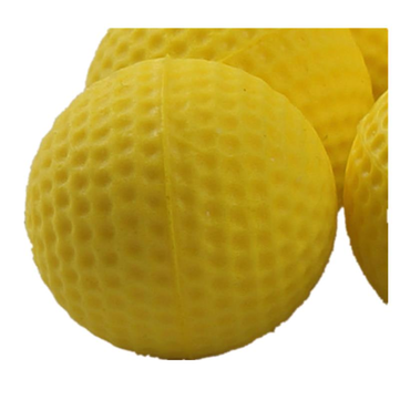 100pcs Nerf Rival Toy Compatible Gun Bullet Balls Rounds Part For Nerf Rival Zeus Apollo Refill Yellow