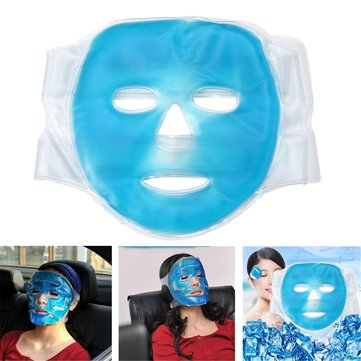 Full Face Cooling Mask Improving Blood Circulation Hot Gel Beauty Face Mask Relax Facial Skin Care
